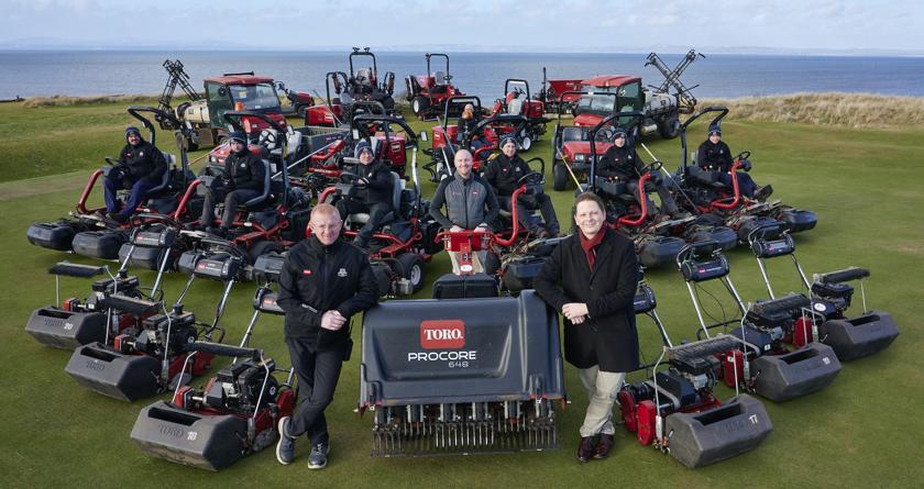 Gullane Golf Club and Toro partnership to hit 25 years