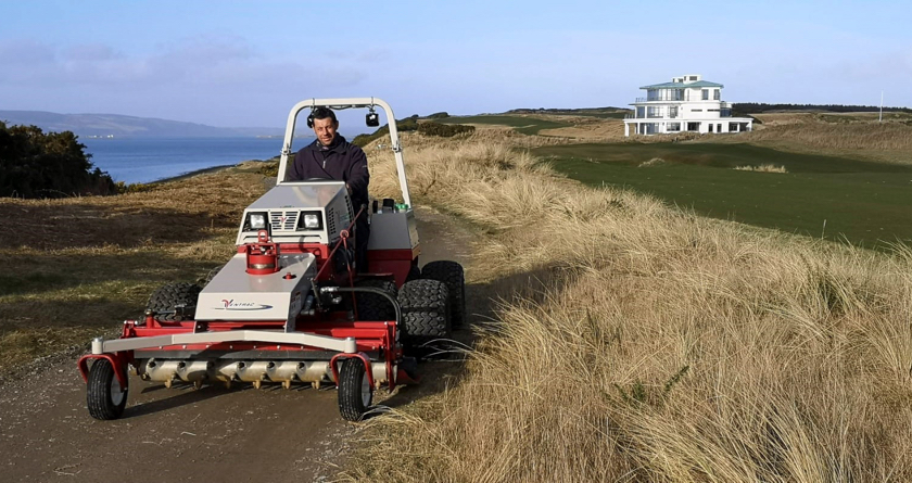 Castle Stuart becomes the latest Scottish club to purchase a Ventrac
