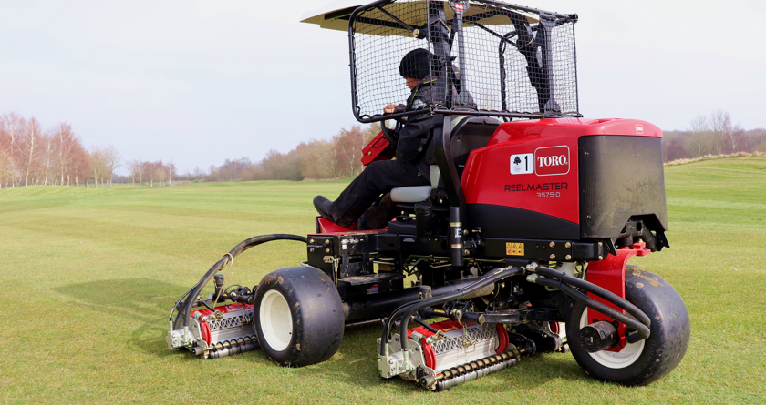 Lockdown Toro machinery deal for Stratford Oaks