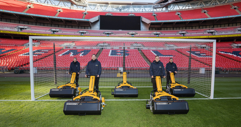 INFINICUT® fleet becomes the new way for Wembley