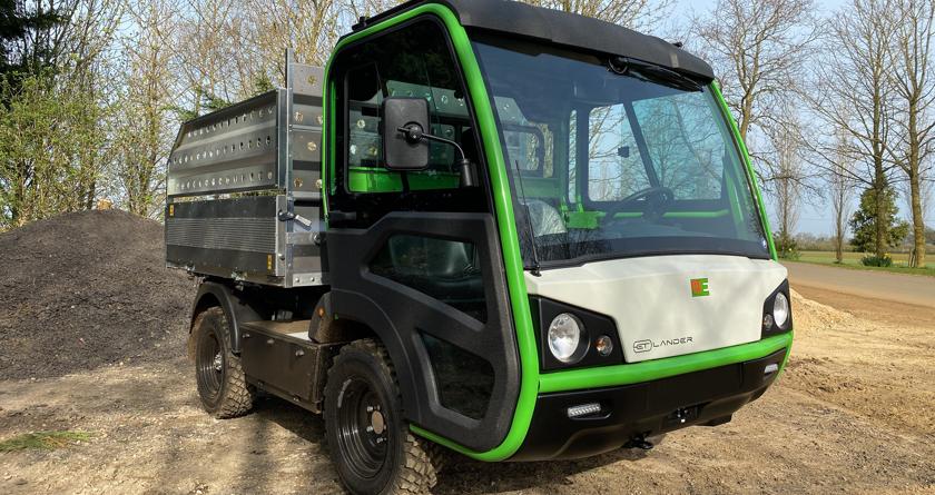 Etesia launch the ET Lander electric utility vehicle