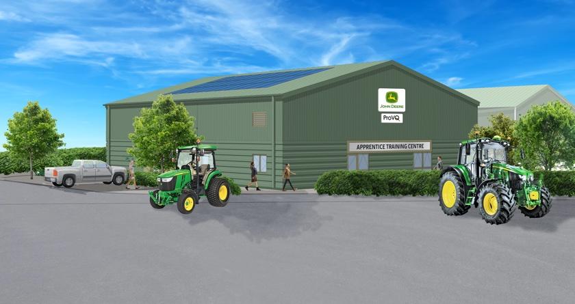 John Deere to open new apprentice training centre
