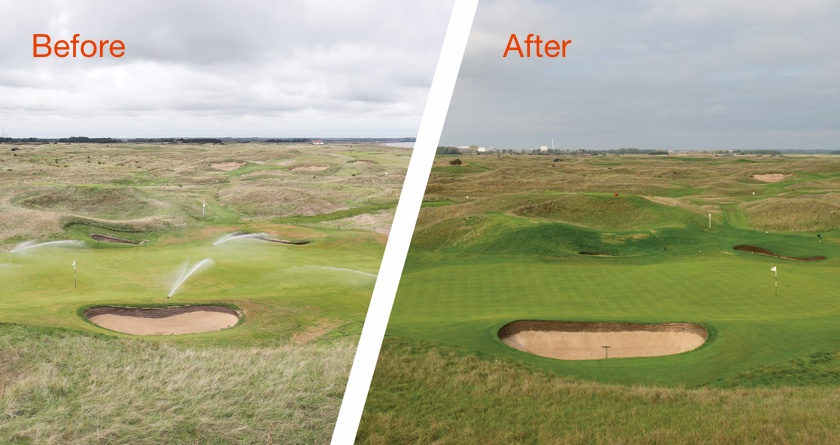Toro Irrigation helps Royal St George's through drought