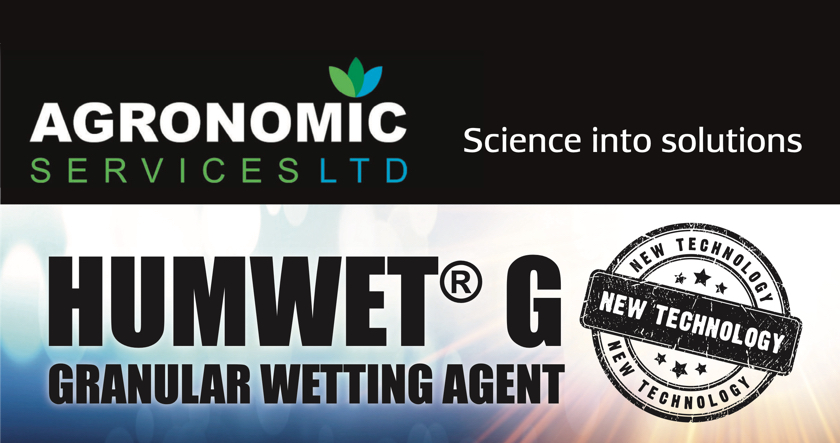 Save time with Agronomic's new versatile wetting agent