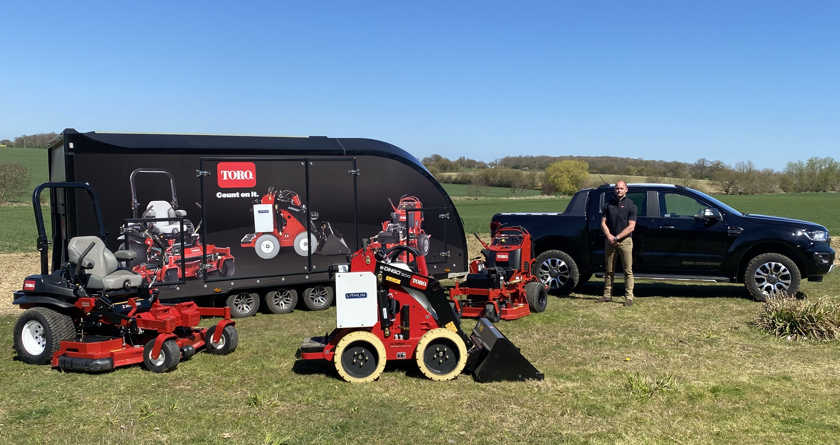 Demonstrating product excellence with new Toro Demonstration and Support Trailer