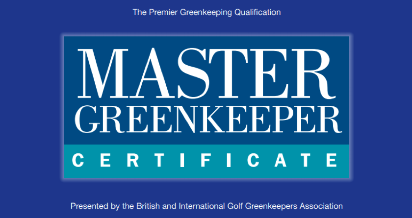 BIGGA announces first batch of Master Greenkeepers since 2019
