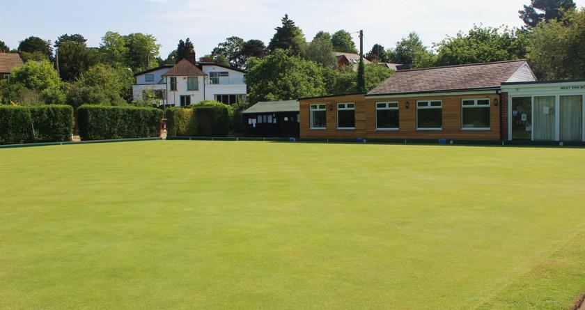 Drainage cure for Buckingham West End Bowls Club