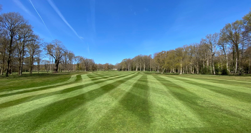 Fairway recovery at Thorndon Park