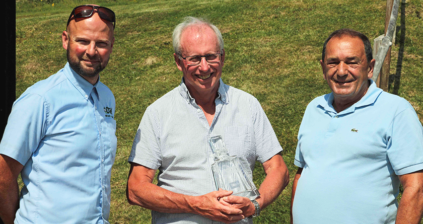 Retirement for Robert Bayliss after 42 years at Weymouth GC