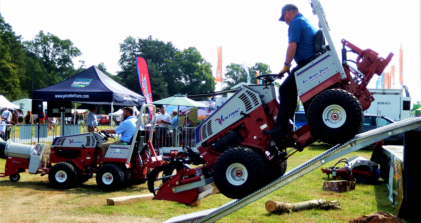 Excellent exposure for Ventrac at The Game Fair