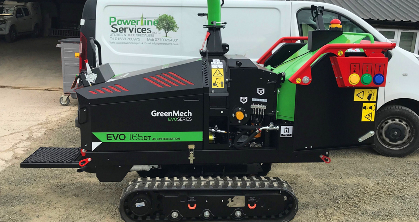 Limited Edition EVO maximises efficiency for Powerline Services