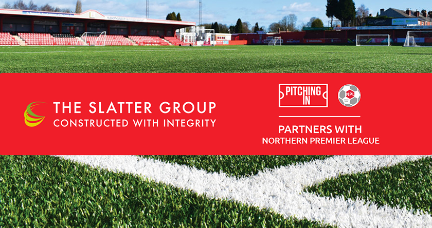 The Slatter Group and Northern Premier League Announce Official Pitch Partnership