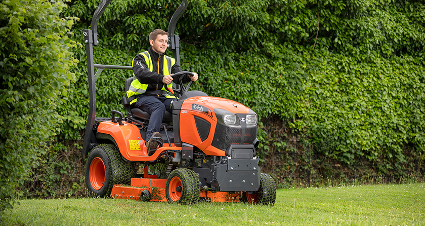Kubota adds rear discharge model to the popular G-Series