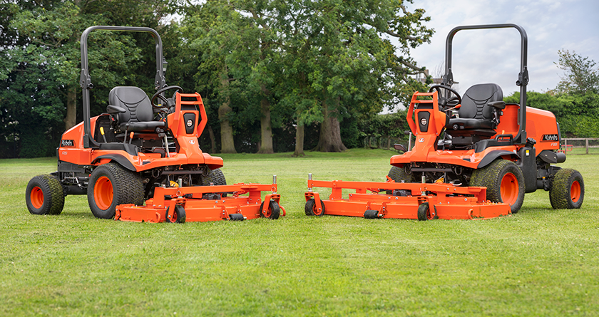 F391 continues Kubota commercial mowing legacy
