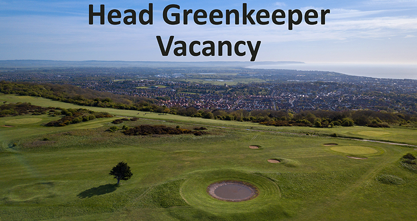 Eastbourne Downs GC seeking to appoint a Head Greenkeeper