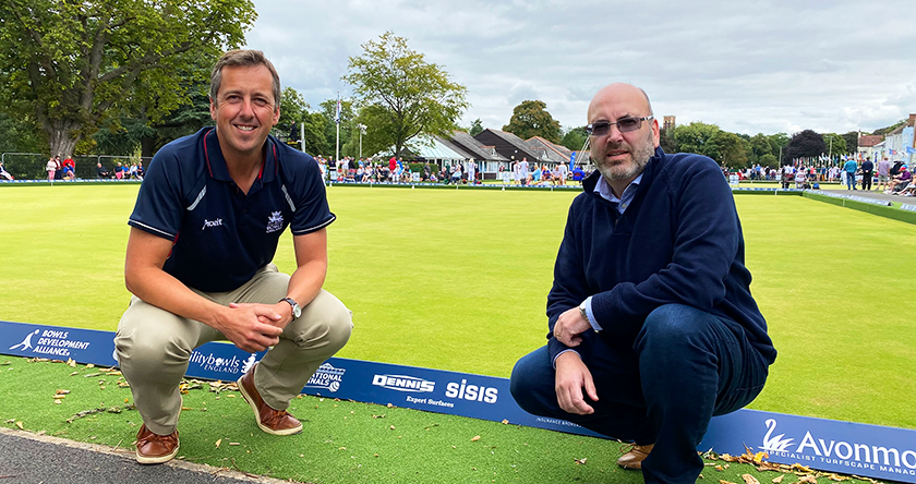 Dennis & SISIS announce partnership with Bowls England