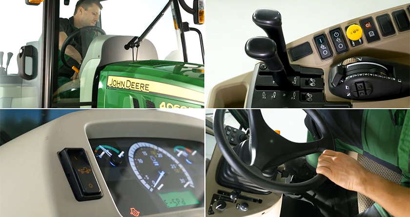 Watch – Compact Utility Tractor 4066R from John Deere