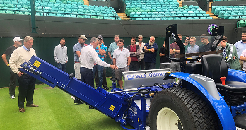 Campey announce tennis and cricket renovation days