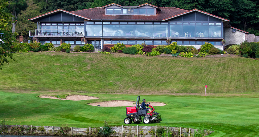 Deeside Golf Club bolstersToro fleet