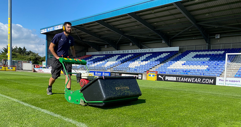 Trusty Dennis G860 upgraded at Caley Thistle