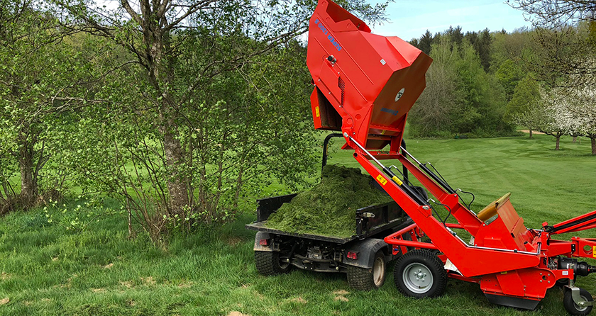 Wiedenmann UK introduces the Super 1300 S compact turf and leaf collector